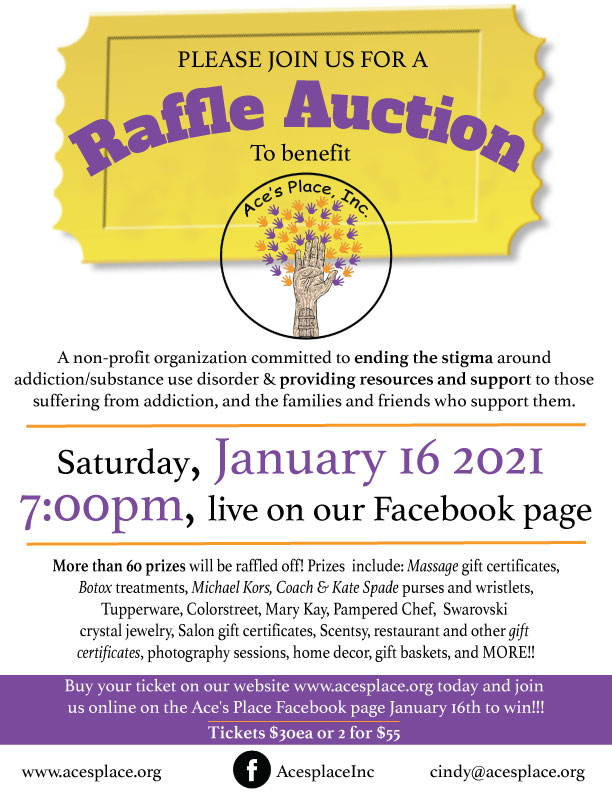 Ace's Place Raffle Auction